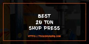 Best 20 Ton Shop Press